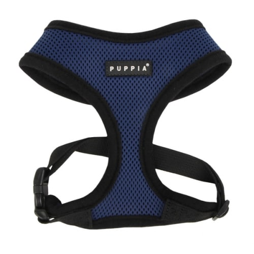 Puppia - Soft Harness, Royal Blue