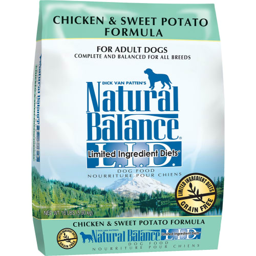 Natural Balance - L.I.D. Limited Ingredient Diets Chicken & Sweet Potato Dry Dog Food