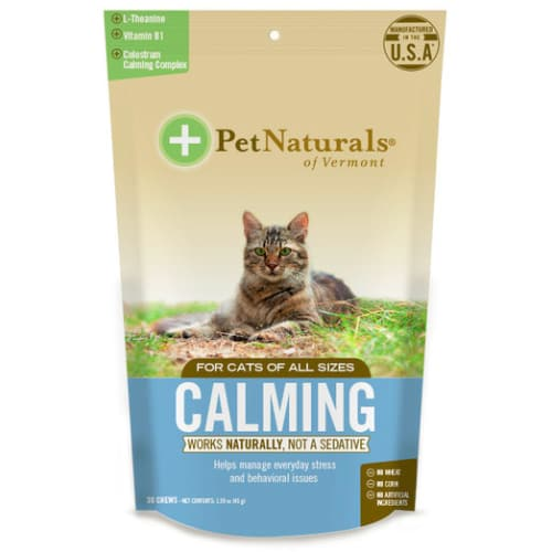Pet Naturals - Calming Cat Chews, 30ct
