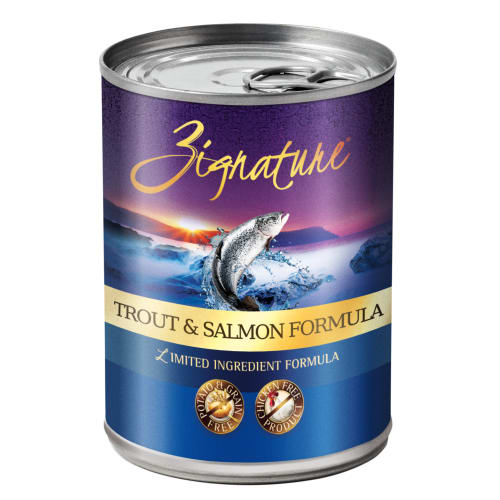 Zignature - Limited Ingredient Trout & Salmon Formula Grain-Free Canned Dog Food