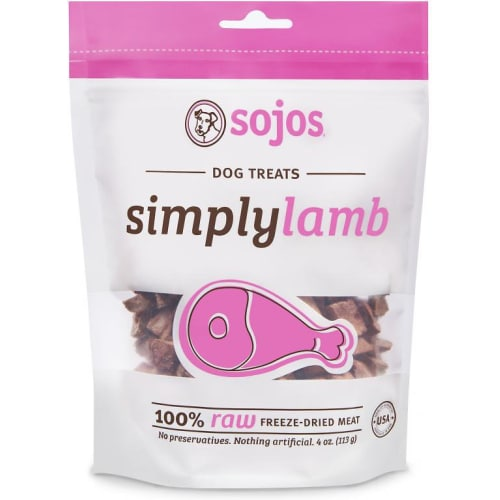 Sojos - Simply Wild Lamb Freeze Dried Treat, 4oz