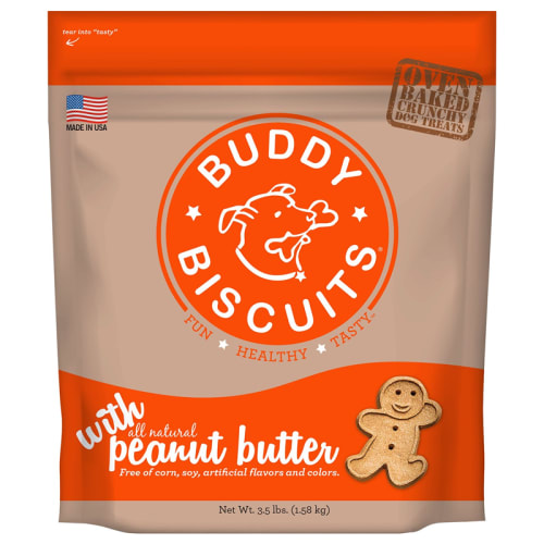 Cloud Star - Buddy Biscuits Peanut Butter, 3.5lbs