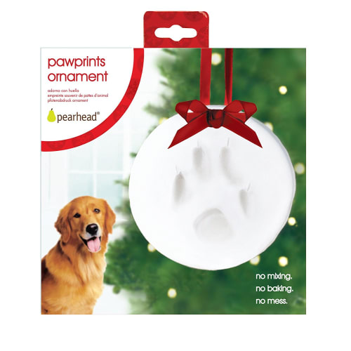 Pearhead - Paw Prints DIY Hanging Ornament, 6""