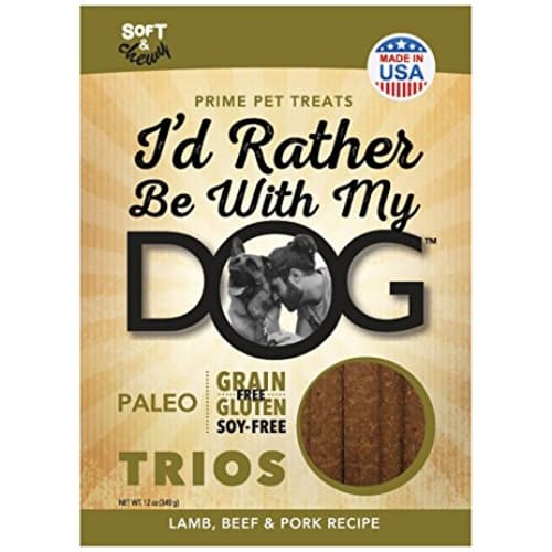 I'd Rather Be With My Dog - Paleo Trios Lamb Beef & Pork