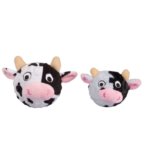 Fab Dog - Cow Faball Squeaky Dog Toy