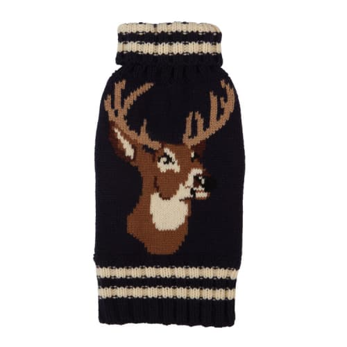Fab Dog - Stag Dog Sweater