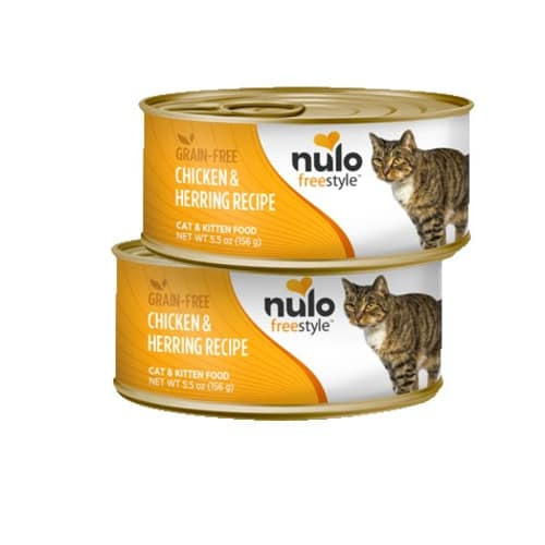 Nulo - FreeStyle Chicken & Herring Pate Grain-Free Canned Cat Food, 5.5oz