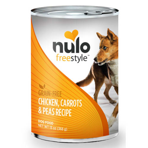 Nulo - FreeStyle Chicken Carrots & Peas Grain-Free Canned Dog Food, 13oz