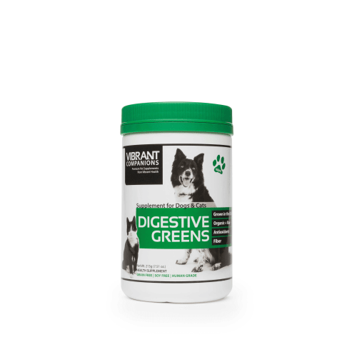 Vibrant Companions- Cat & Dog Digestive Greens Powder, 7.51oz
