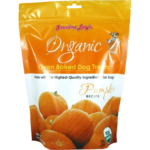 Grandma Lucy's - Organic Oven Baked Pumpkin Recipe Dog Treats, 14oz