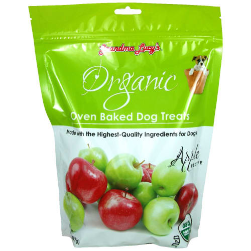 Grandma Lucy's - Organic Apple Oven Baked Dog Treats, 14oz