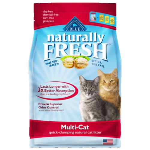 Blue Buffalo - Naturally Fresh Multi Cat Clumping Litter 6lbs