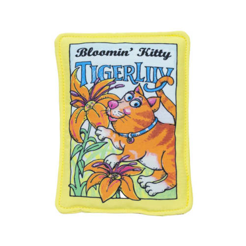 Fuzzu - Tiger Lily Seed Packet Cat Toy