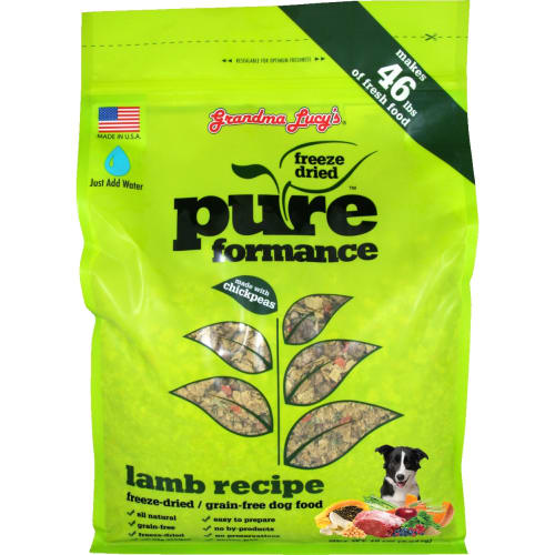 Grandma Lucy's - Pureform Grain Free Lamb/Chickpea Freeze-Dried Dog Food