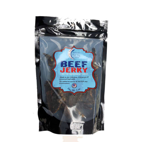 American Made Treat Company - Beef Jerky Dog Treat, 5oz