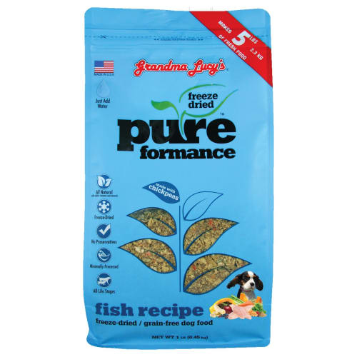 Grandma Lucy's - Pureform Grain Free Fish/Chickpea Freeze-Dried