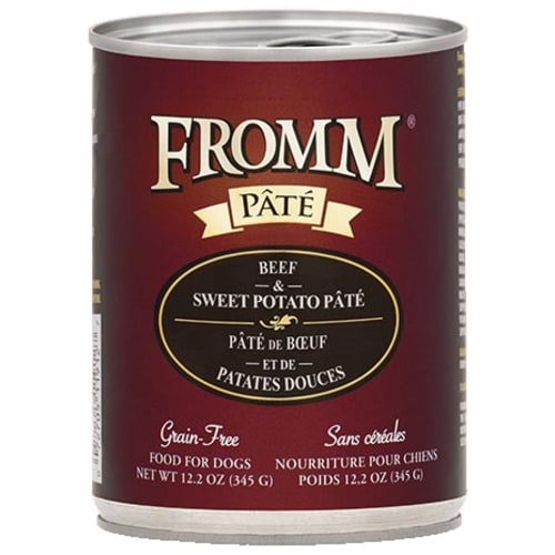 Fromm - Beef Sweet Potato Pate Dog Wet Food, 12.2oz
