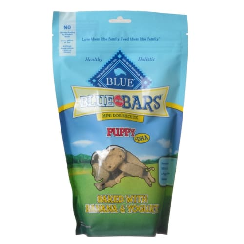 Blue Buffalo - Blue Mini Bars Puppy Banana & Yogurt Natural Mini Dog Treats