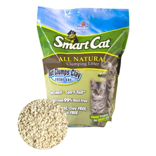 Smart Cat - All Natural Clumping Cat Litter, 5lbs
