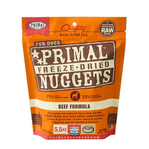 Primal - Beef Nuggets Grain-Free Freeze Dried Food