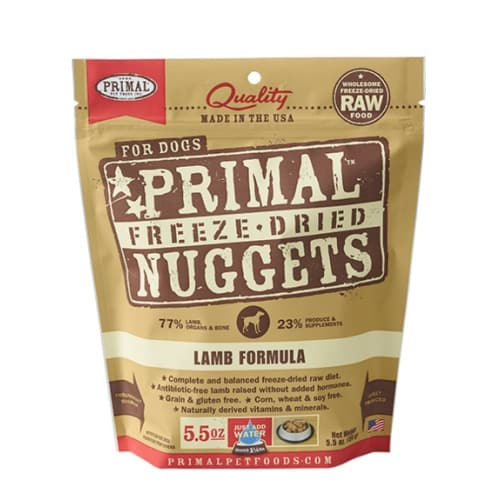 Primal - Lamb Nuggets Grain-Free Freeze Dried Food