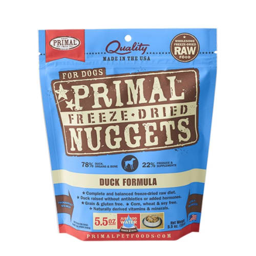 Primal - Duck Nuggets Grain-Free Freeze Dried Food