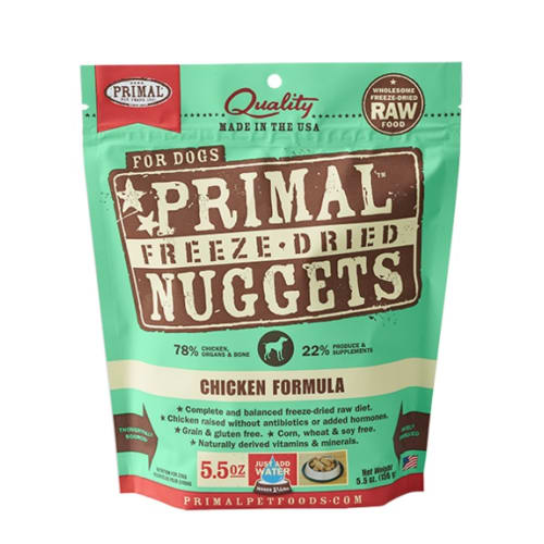 Primal - Chicken Nuggets Grain-Free Freeze Dried Food