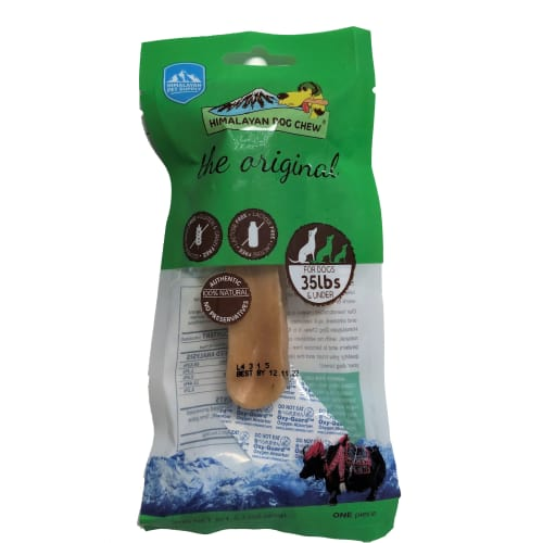 Himalayan Dog Chew - The Originial Himalayan Chew For Dogs 35 Lbs And Under Grain-Free Dog Chew, 2.3oz