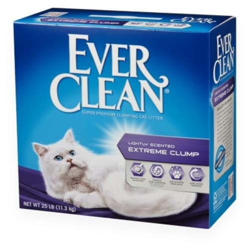 Ever Clean - Lightly Scented Extreme Clump Cat Litter, 25lb