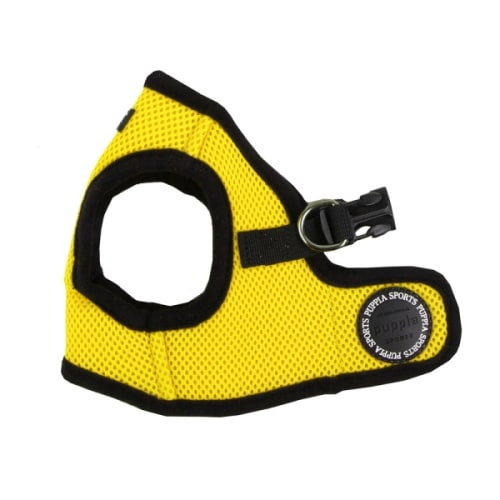 Puppia - Soft Vest Harness Yellow