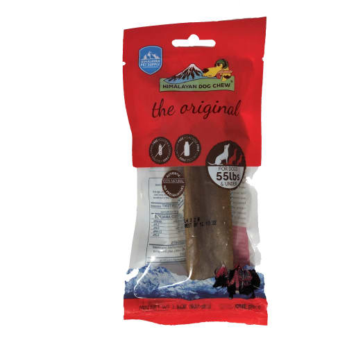 Himalayan Dog Chew - The Originial Himalayan Chew For Dogs 55 Lbs And Under Grain-Free Dog Chew, 3.3oz