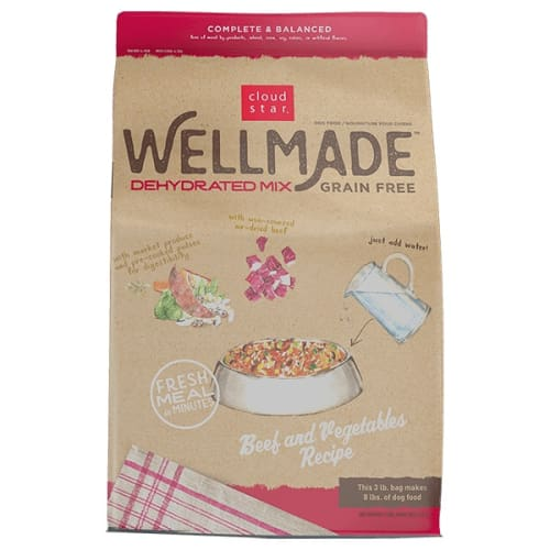 Cloud Star - WellMade Dehydrated Beef & Vegetable Mix