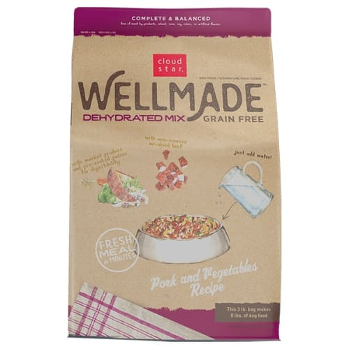 Cloud Star - WellMade Dehydrated Pork & Vegetables Mix