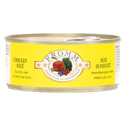 Fromm - Four Star Grain Free Chicken Pate Wet Cat Food, 5.5oz
