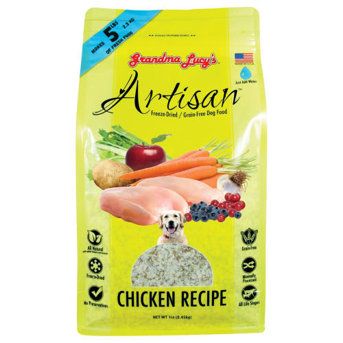 Grandma Lucy's - Artisan Grain Free Chicken Freeze-Dried Dog Food