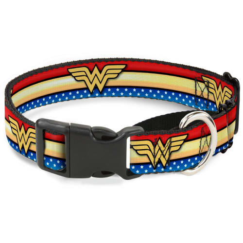Buckle Down - Wonder Woman Stars & Stripes Collar