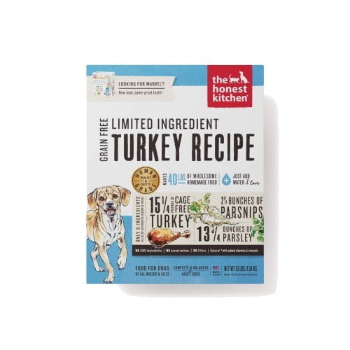Honest Kitchen - Marvel Grain-Free Turkey & Parsnip Dog Food