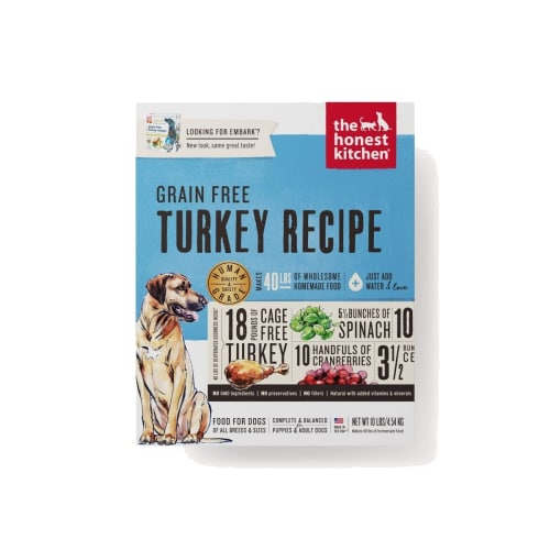 Honest Kitchen - Embark Turkey Recipe Grain-Free Dehydrated Dog Food