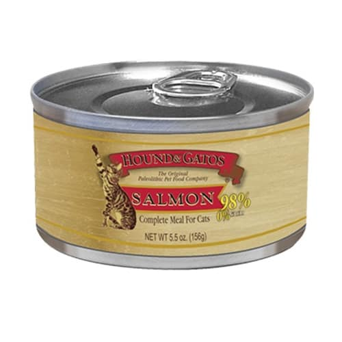 Hound And Gatos - Salmon Grain-Free Canned Cat Food, 5.5oz