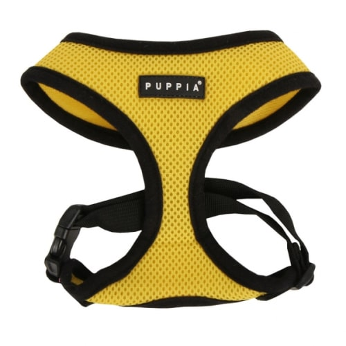 Puppia - Soft Harness Yellow