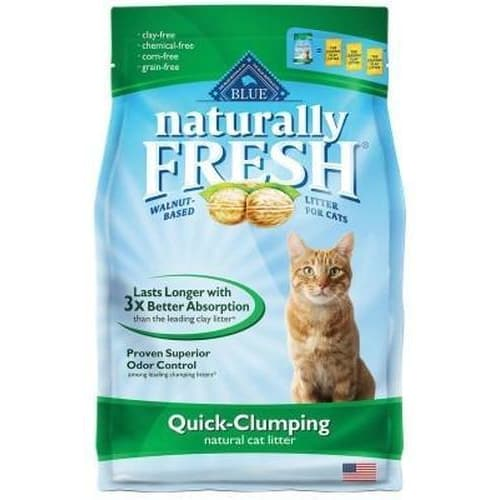 Blue Buffalo - Naturally Fresh Walnut-Based Quick-Clumping Cat Litter