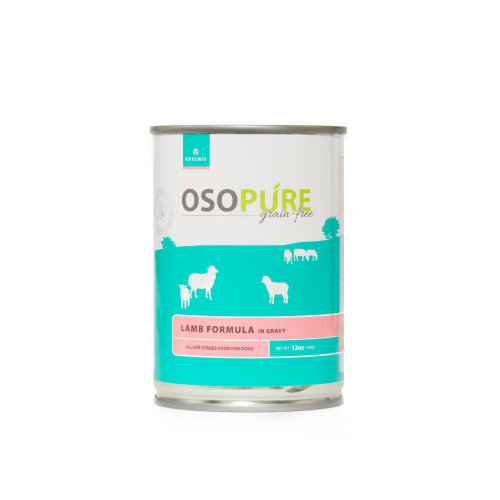 Artemis - Osopure Grain Free Lamb In Gravy Wet Dog Food , 12oz