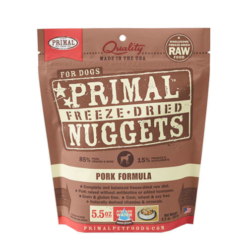 Primal - Pork Nuggets Grain-Free Freeze Dried Food