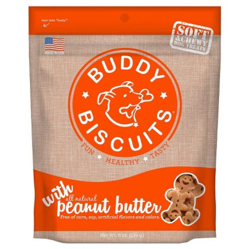 Cloud Star - Buddy Biscuits Soft & Chewy Peanut Butter Dog Treats