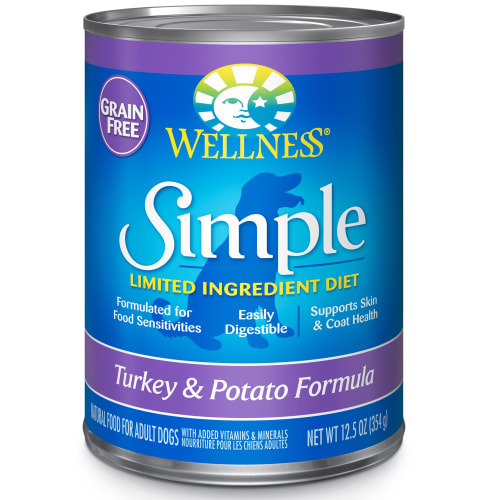 Wellness - Simple Turkey & Potato Formula Grain-Free Canned Dog Food