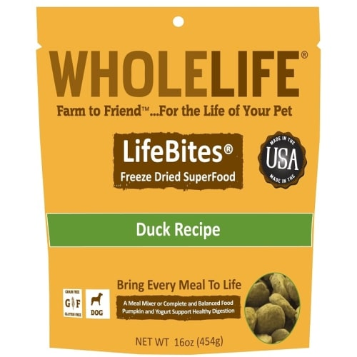 Whole Life - Freeze Dried Life Bites Duck, 16oz