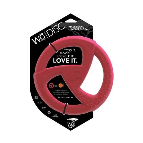 WO - Disc Dog Toy Cranberry