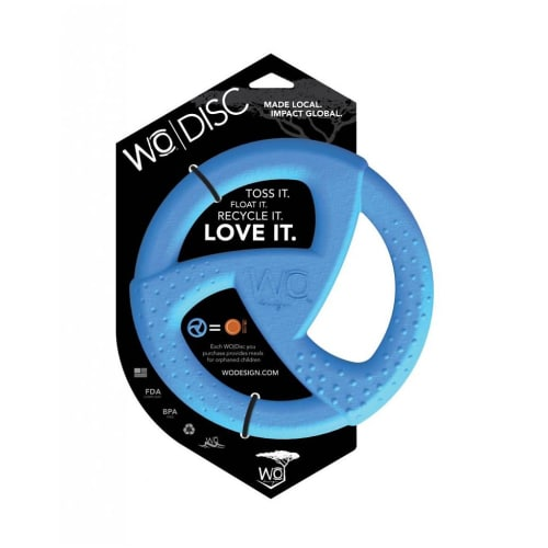WO - Disc Dog Toy Blue