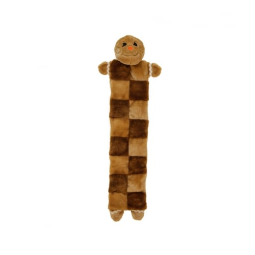 Outward Hound - Holiday Gingerbread Man Squeaker Dog Toy, XL