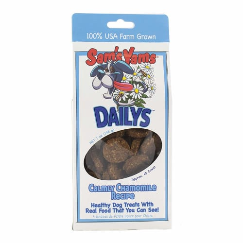 Sam's Yams - Calmly Chamomile Dog Treats, 7oz